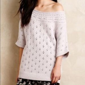 Anthropologie Chantal Pointelle Pullover